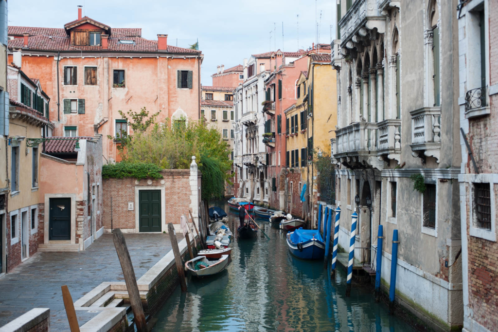 как построена Венеция