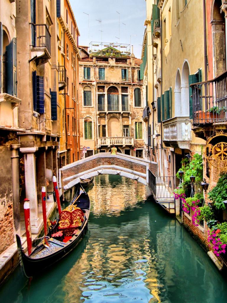 Венеция как построены дома